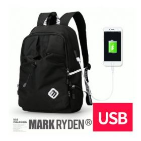 Рюкзак Mark Ryden Fashion Backpack (с внешним USB) черный