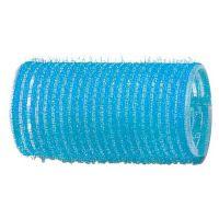 DEWAL Бигуди-липучки, голубые d 28 мм, 12 шт/уп, R-VTR6