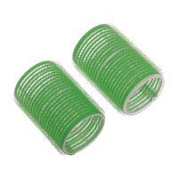 DEWAL Бигуди-липучки, зеленые d 20 мм, 12 шт/уп, R-VTR8