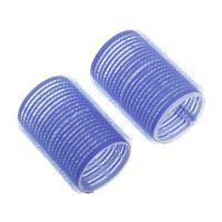 DEWAL Бигуди-липучки, синие d 16мм 12шт/уп