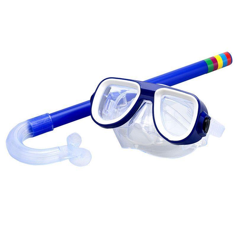 Набор для плавания маска с трубкой Wellmix