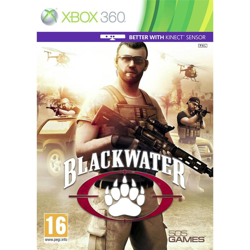 Игра Blackwater (Xbox 360 Kinect)