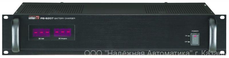 PB-6207 Inter-M Зарядное устройство для подключения внешних аккумуляторов 24В