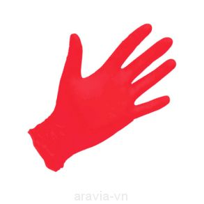 Перчатки NitriMax Красные р. М , уп. 50 пар