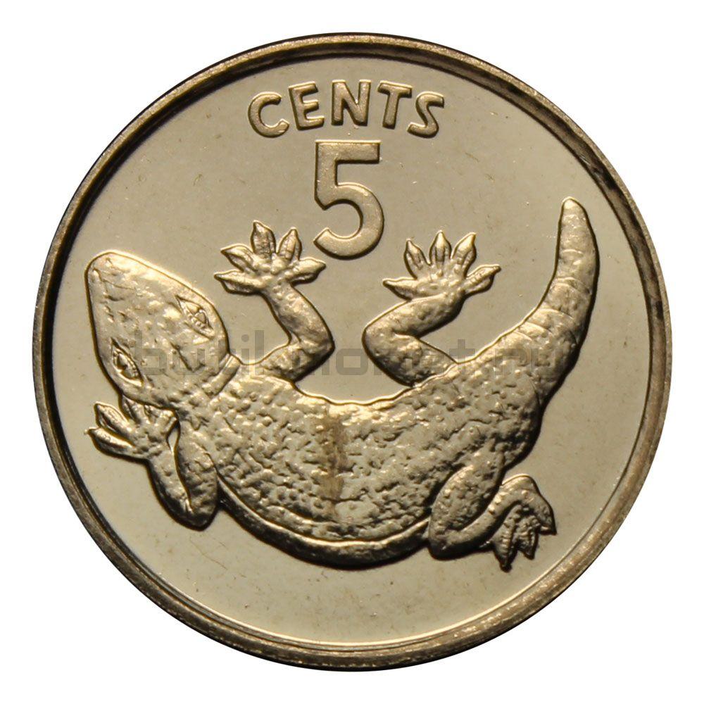 5 центов 1979 Кирибати