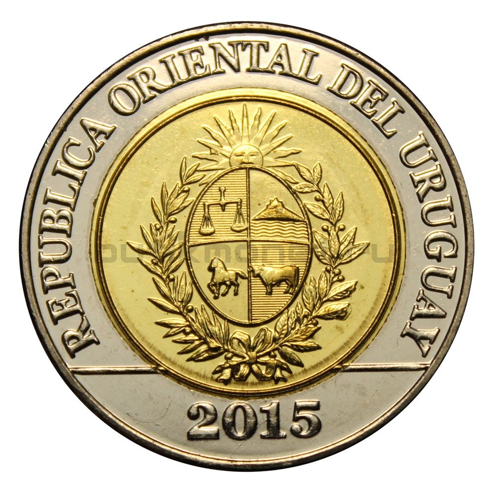 10 песо 2015 Уругвай Положение о земле 1815 года