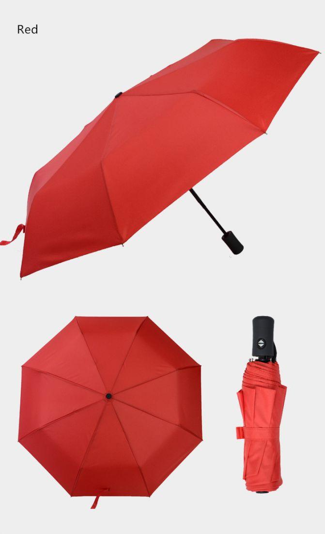 Карманный зонт umbrella красный