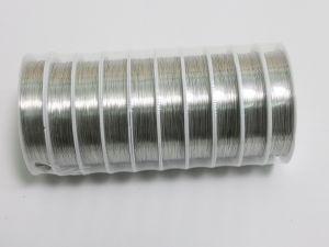 `Проволока 0,3мм, длина 12м, цвет серебро