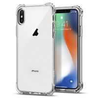Чехол SGP Spigen Rugged Crystal для iPhone X прозрачный