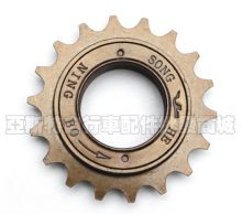 "Кассета-трещетка велосипедная для Singlespeed 1/2x1/8"" 18T, резьба BSA шарикоподшипники"