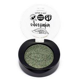 PuroBio - Тени в палетке (22 зеленый мох) мерцающие / Eyeshadows