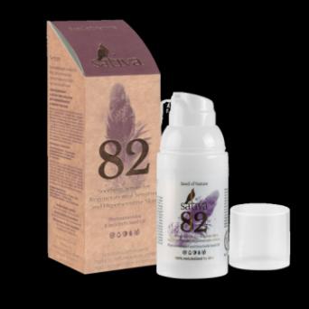 Sativa №82 Успокаивающая сыворотка для чувствительной и гиперчувствительной кожи 30 мл