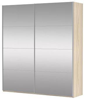 Шкаф-купе двухдверный (Зеркало/Зеркало) | E1 Прайм