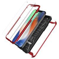Чехол SGP Spigen Reventon для iPhone X красный металлик