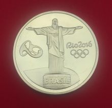 Медальон Олимпиада Рио 2016 Бразилия