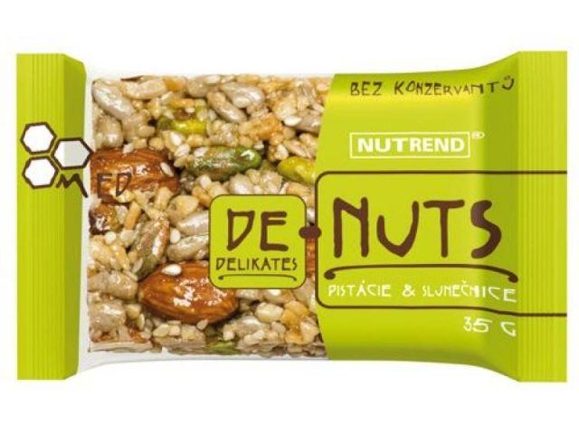 DE-NUTS Фисташки и подсолнечник (35 гр.)