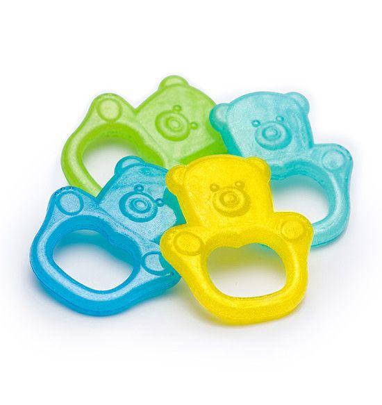 BabyOno Прорезыватель гелевый для зубов - Мишка