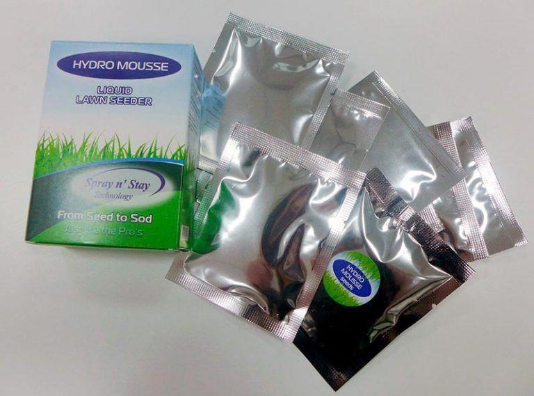 Семена трав для гидропосева газона Hydro Mousse Liquid Lawn