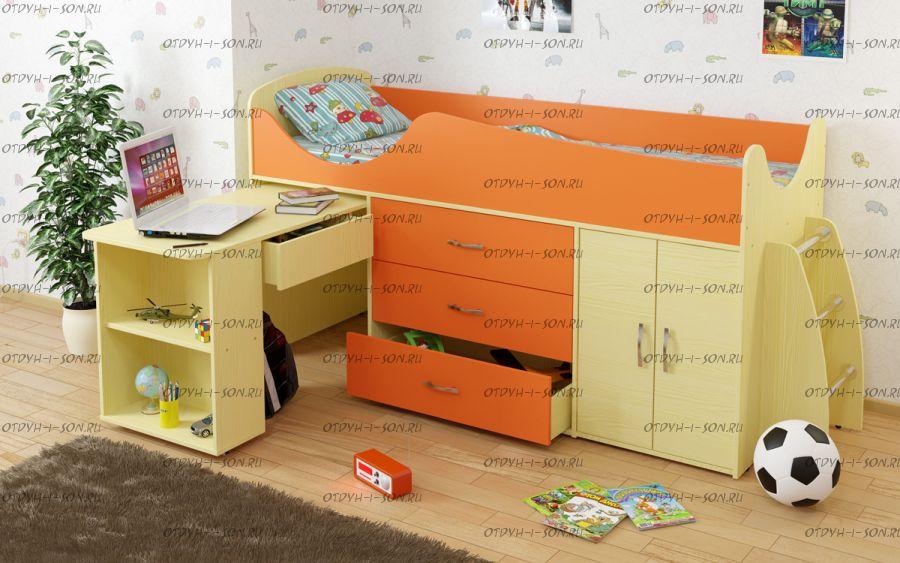 Кровать-чердак Карлсон МИНИ-8 (арт. 15.7.008)