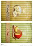 Декупажные карты Set cheese 2