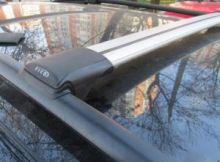 Багажник на рейлинги, Fico, аэродуги