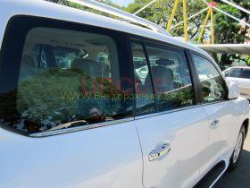 Молдинги окон (Тип 9) для Toyota Land Cruiser 200