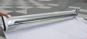 Хромированные накладки на аэродинамические пороги для Toyota Land Cruiser 200 2008
