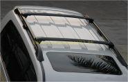 Багажная система на штатные рейлинги (Тип 2) для Toyota Land Cruiser 200 / Lexus LX