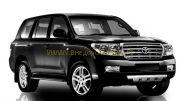 Защита переднего бампера, центральная 76 мм (FBU5NJ2076P12) для Toyota Land Cruiser 200 2012 -