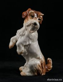 Собака на задних лапах, Karl Ens, Германия, 1920-е годы
