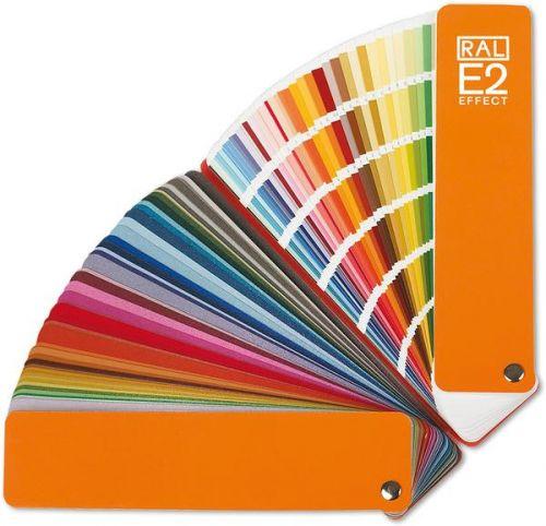 Каталог промышленных цветов RAL-E2 Effect