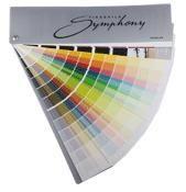 Каталог цветов Тиккурила Симфония 720 для интерьеров