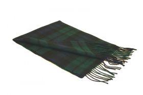 шарф 100% шерсть ,  расцветка Блэк Уотч Черная Стража Британской Империи