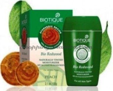 Увлажняющий крем Биотик Красное дерево&Персик SPF30 (Biotique Bio Red Wood Peach Moisturizer)