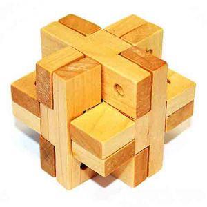 Головоломка деревянная К6