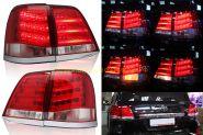 Задняя  альтернативная оптика диодная (Тип Lexus NEW) для Toyota Land Cruiser 200