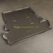 """Ковер в багажник  полиуретановый с бортиком  """"Черный"""" для Toyota Rav 4 2013 -"""