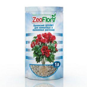 Почвоулучшитель «Цеофлора» для комнатных и балконных растений 1 литр «БЕГОНИЯ»