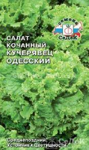 Салат полукочанный  Кучерявец Одесский