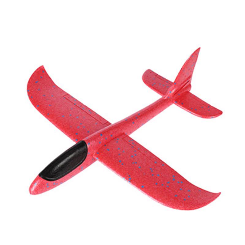 Метательный планер, 36 см, цвет красный