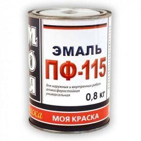 Эмаль ПФ-115 Моя Краска 1.8кг Универсальная