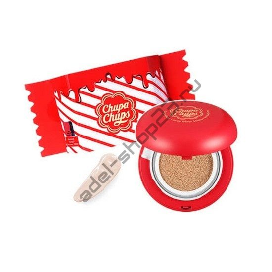 Chupa Chups Candy Glow Cushion Strawberry - кушон