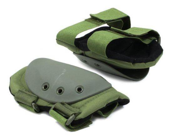 Наколенники 01, зеленый HELIOS