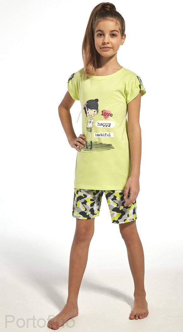 244-62 Пижама для девочек Cornette