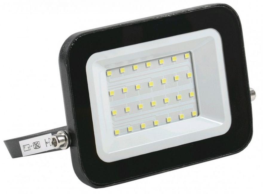 IEK прожектор св/д СДО 06-30 30W(2700lm) 4000K 4K черный IP65 LPDO601-30-40-K02