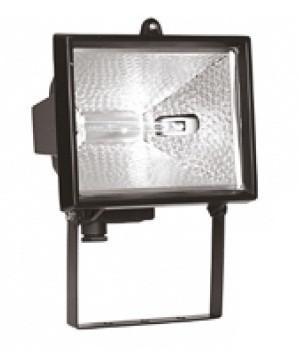 Прожектор ИО150 галогенный  черный  IP54  IEK