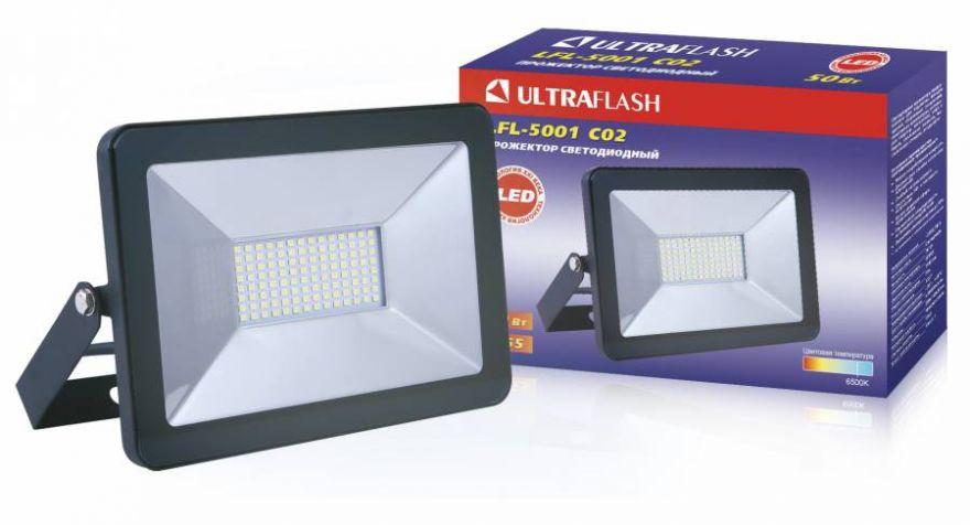 Светодиодный прожектор Ultraflash LFL-5001 50W
