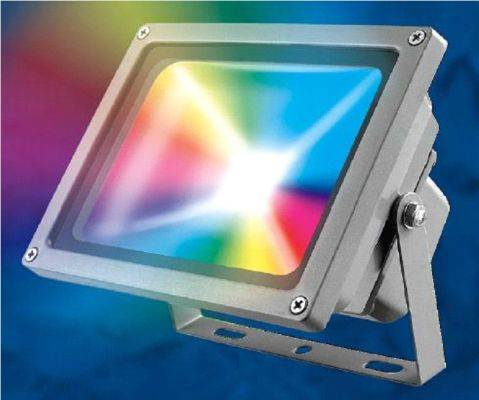 Светодиодный прожектор Uniel 50W ULF-S01-50W/RGB/RC