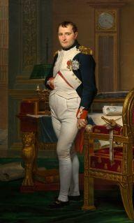 Наполеон Бонапарт (Репродукция Жака Луи Давида)