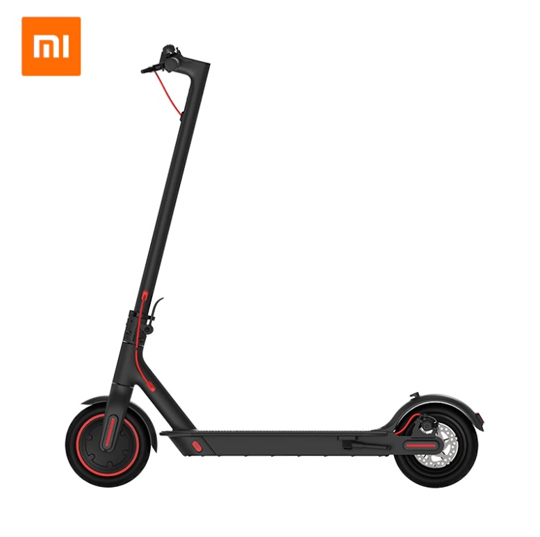 Электросамокат Xiaomi M365 Electric Scooter Pro 2019 черный